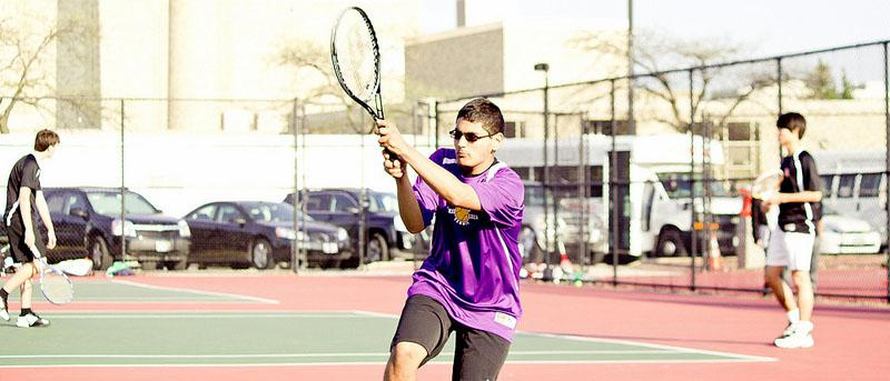 Bacalla, Rosen off to strong starts for Niles North tennis