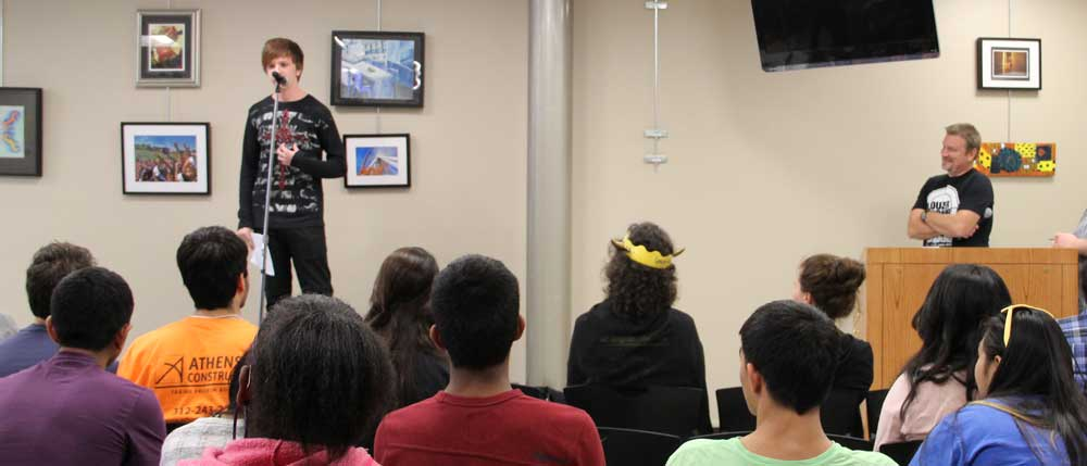 Wordplay: North's first Poetry Slam a smashing success