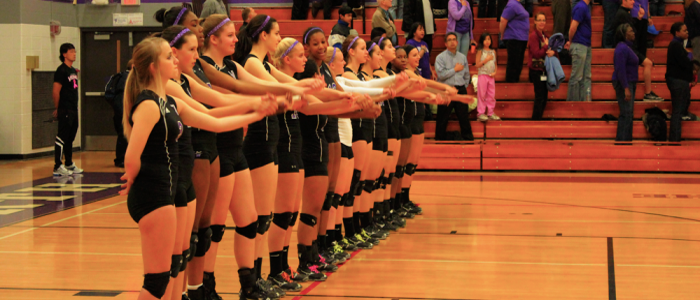 After a great season, Girls Volleyball winning streak comes to an end