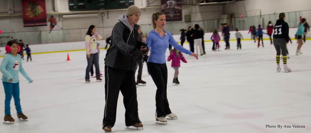 Skating through winter in Skokie's finest rinks