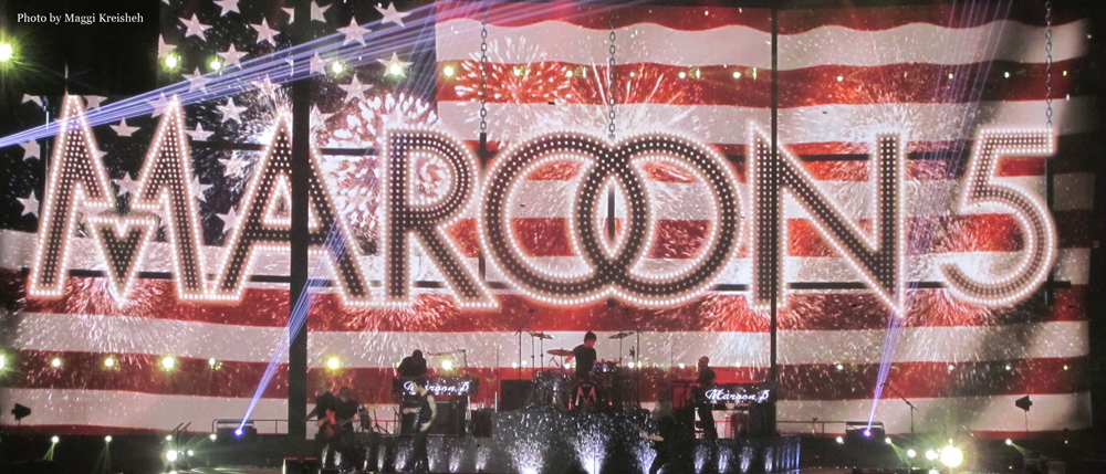 Review: Maroon 5 concert