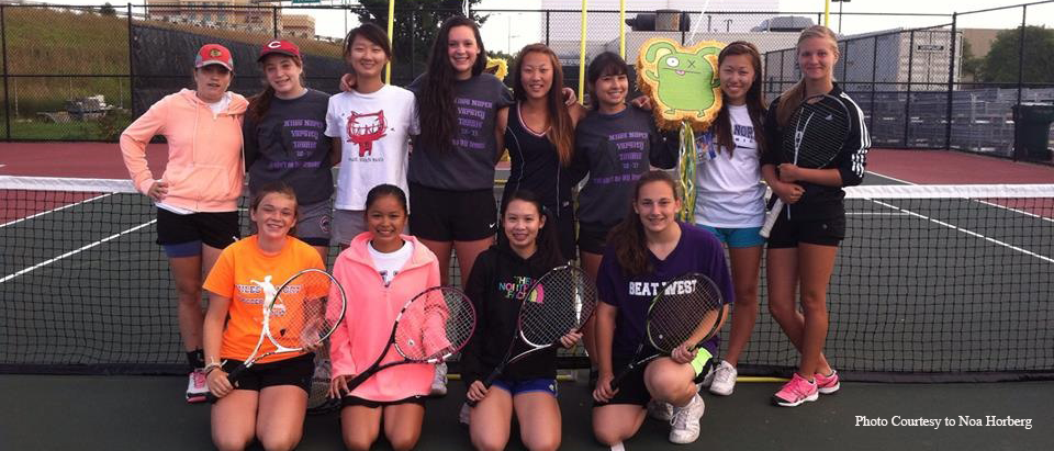 Girls tennis starts season on positive note