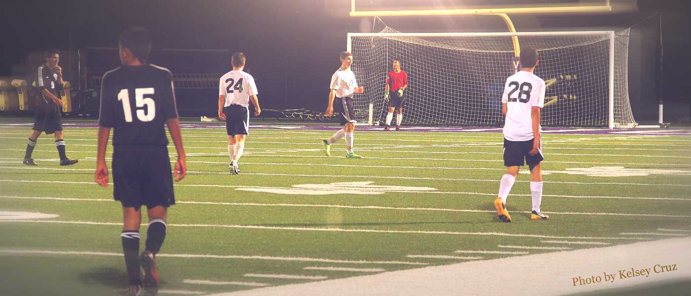 Boys' soccer continues on a good foot