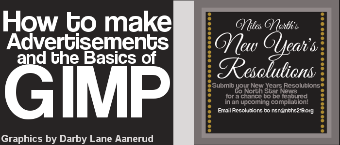 How to make advertisements and the basics of GIMP