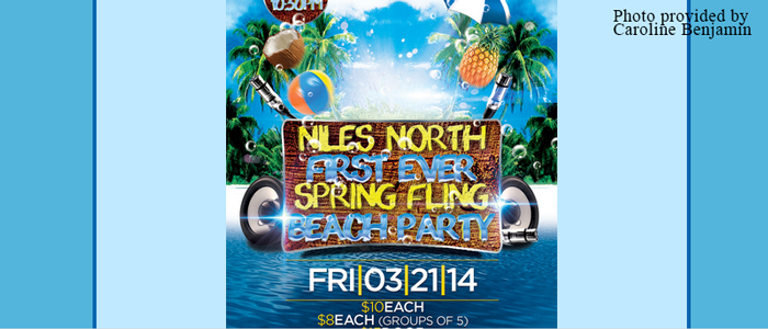 Niles North presents first ever Spring Fling beach party