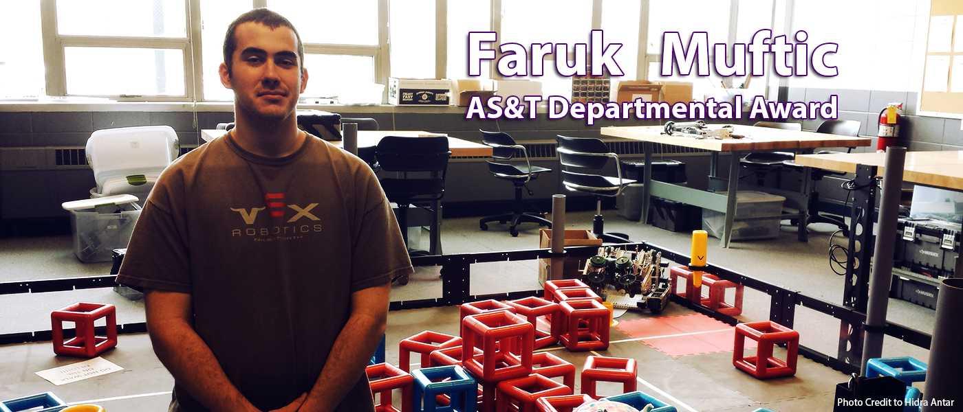 AS&T Departmental Award: Faruk Muftic