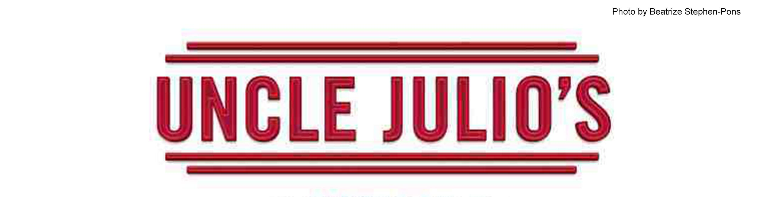 Coolio Julio: Uncle Julio's comes to Old Orchard Mall