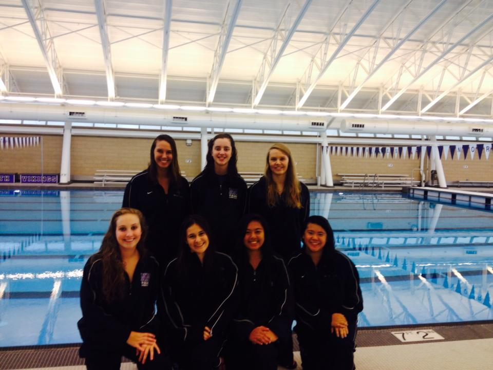 Senior night: Girls swimming and diving team's last stand ...