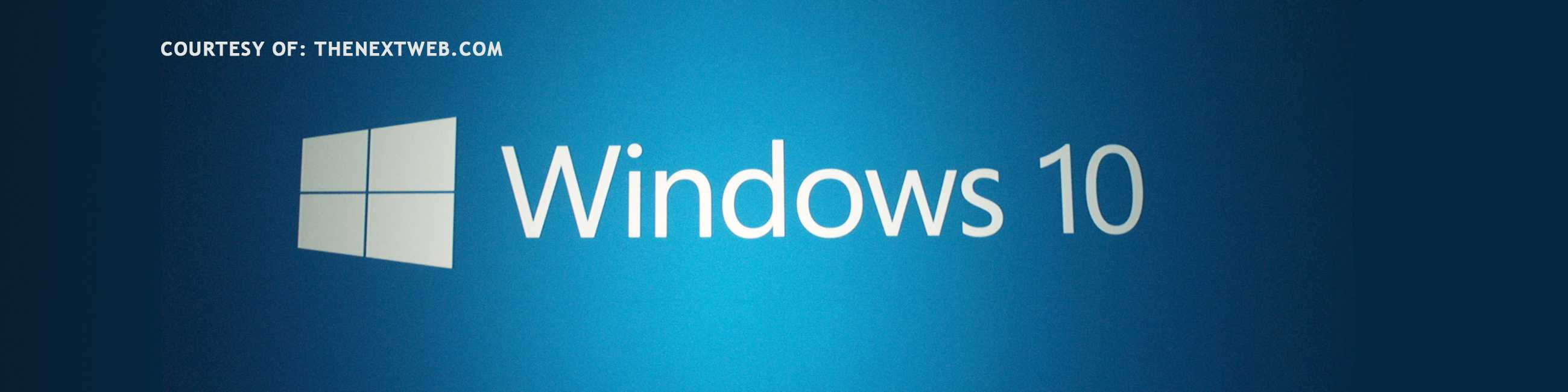 A look at Windows 10