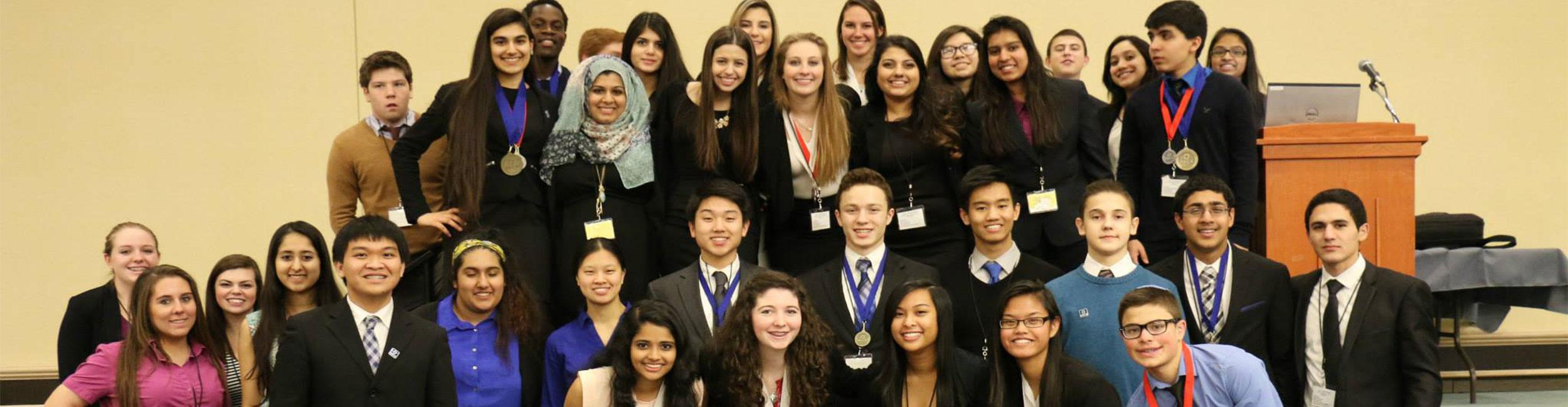 DECA state: Strictly business