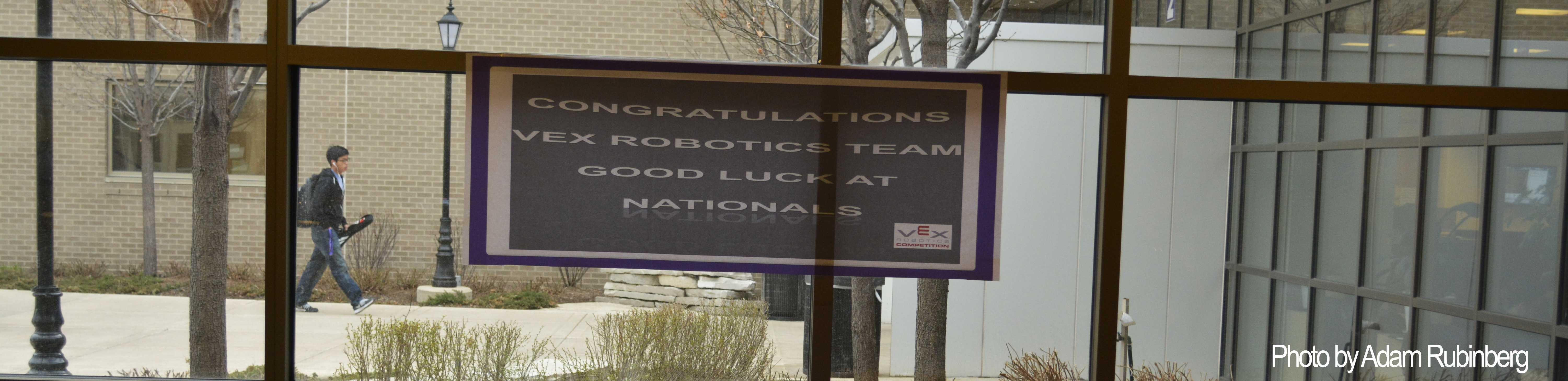 Robotics team heads to nationals