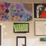 Junior high art show proves artistic futures