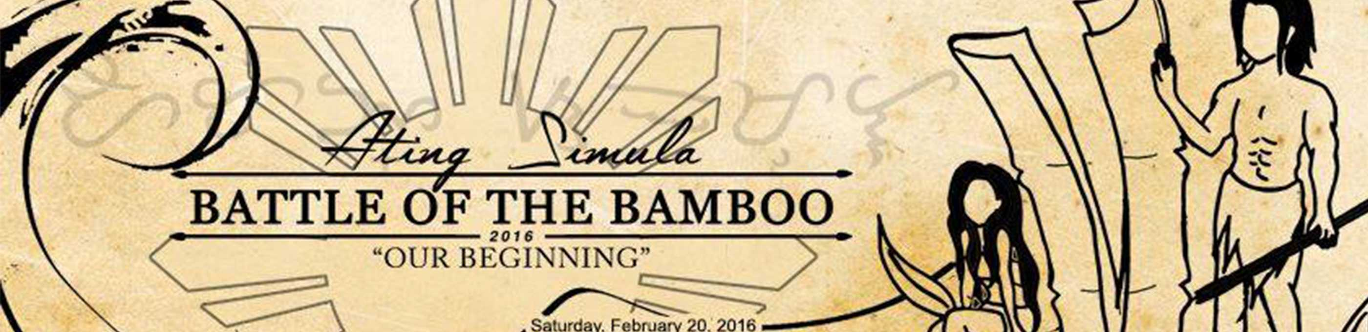 Filipino club embraces the cultural ambiance of Battle of the Bamboo: Ating Simula