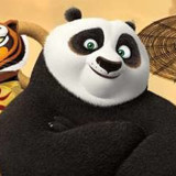 Kung Fu Panda kicks back in action