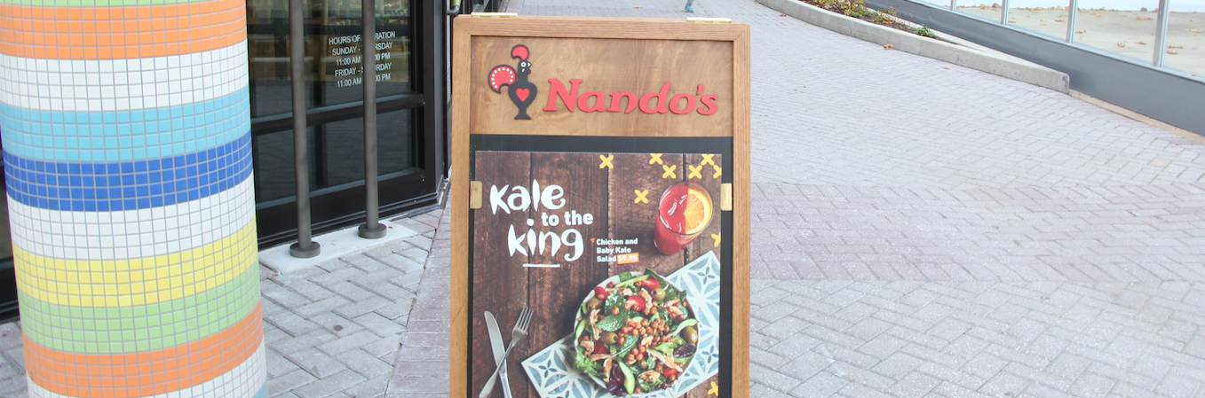 Nando's means peri serious business