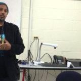 Real talk: Calvin Terrell's enlightening workshop