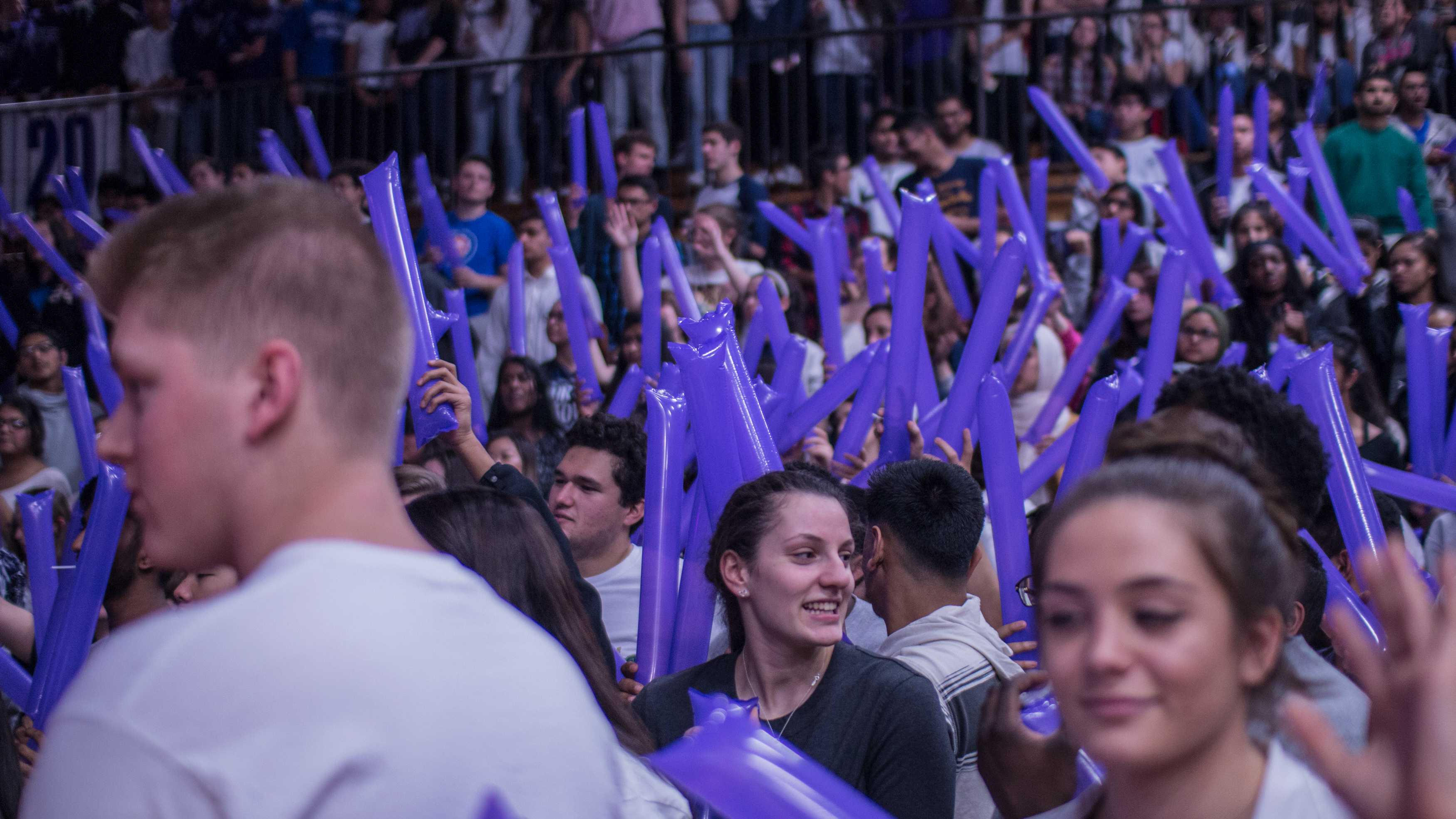Vikings flex their spirit in Winter Pep Assembly: A collection of images