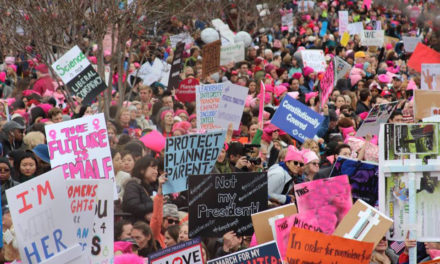 """""""Okay, ladies, now let's get in formation"""": Woman's March from the scene of the action"""