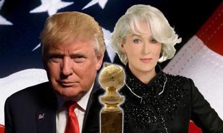 A globe more golden: Meryl Streep's political statement